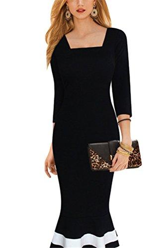 Kleid schwarz blau andere beispiele