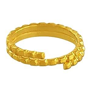 P.N.Gadgil Jewellers 23.5k (985) Vedhani, 0.5 g