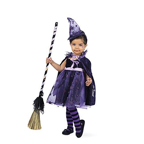 Mascarada mb 684 - limit carnevale per bambini costume da strega stella chen 1-3 anni