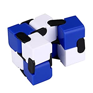 Infinity Turn Spin Cube Edc Fidgeting,Sansee Stress Relief fidget toy cube For Fun Anxiety, and Autism Adult and Children
