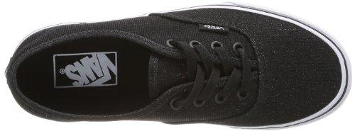 Vans U Authentic, Baskets mode mixte adulte Noir (Shimmer Black)