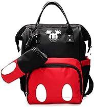 Fashion Baby Messenger Diaper Bag Backpack Set