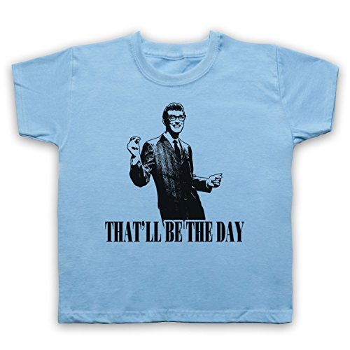 Inspired by Buddy Holly That'll Be The Day Unofficial Kids T-Shirt
