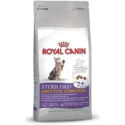ROYAL CANIN/Sterilised Appetite Control 7+ Sac de 3,5 kg Pour le chat quémandeur stérilisé de plus de 7 ans