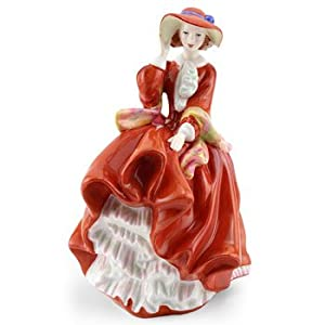 Royal Doulton TOP O' THE HILL Pretty Ladies Figurine HN4778
