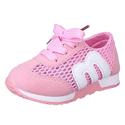 (Beikoard Kleinkind Baby Schuhe Unisex Baby Jungen Mädchen Kleinkind Schuhe Anti-Rutsch Weiche Sohle Hallenschuhe Sneaker Leichte Single-Netzschuhe)