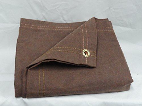 chicago-dropcloth-and-tarpaulin-81br-810-canvas-tarp-brown-8-x-10-by-chicago-dropcloth-tarpaulin