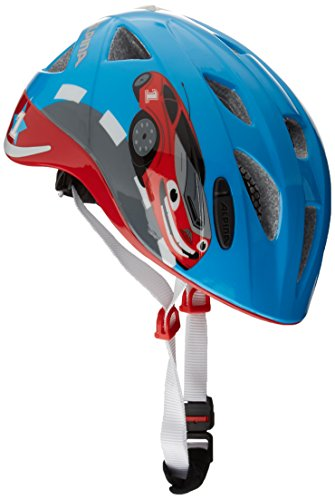 Alpina Kinder Radhelm Ximo Flash Fahrradhelm red-car, 49-54 cm
