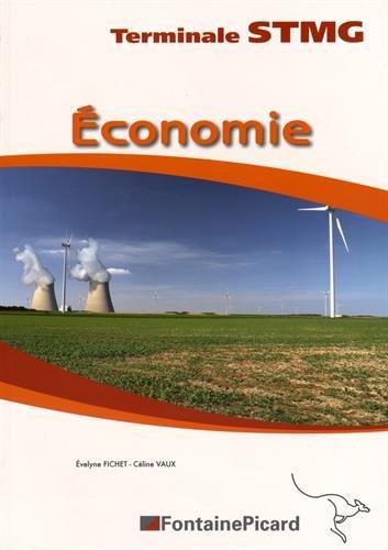 Economie Tle STMG : Feuillets détachables par Evelyne Fichet