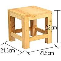 Preisvergleich für JIANGU Home Hocker, aus Holz, MassivHolz-Hocker, Kleinen-Hocker, Hocker-Hocker, Beistelltisch Hocker