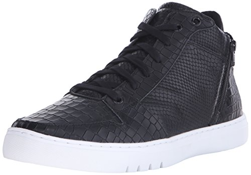 Creative Recreation Adonis, Scarpe da Basket Uomo, Nero (Mid Black Croco), 45 EU