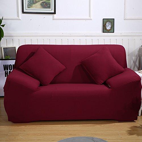 ParaCity Sitzbezug für Sofa / Sessel / Stuhl, rot, 2 seater:140-185cm