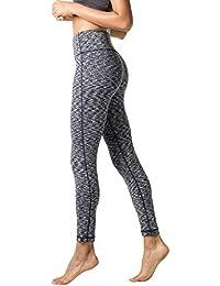 LAPASA Legging Femme Pantalon de Sport avec Poches Yoga Fitness Gym Pilates Taille  Haute Gaine Large 0b8598c644d