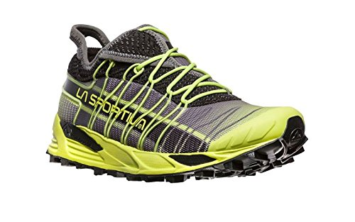La Sportiva Mutant, Scarpe da Trail Running Uomo, Mehrfarbig (Apfelgrün/Carbon 000), 43 EU