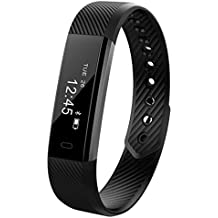 Fragrant Bluetooth Smart Wireless Sports Pulsera Pulsera Watch Fitness Tracker Contador de Paso Frecuencia Cardiaca Actividad Band Wristband Para iOS Android
