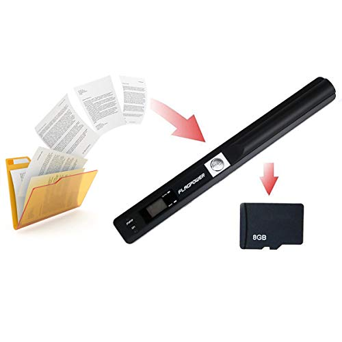 FLAGPOWER Handscanner Portable Scanner ...