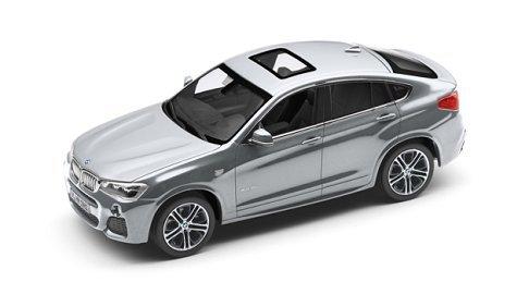 BMW x4(F26) modèle voiture miniature 1: 43glaciersilber