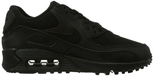 Nike Air Max 90 (Gs), Chaussures de Sport Garçon, 16 EU Noir - Noir