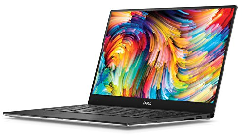 Dell XPS 13 13.3-Inch Notebook - (Silver) (Intel Core i5-7200U, 8 GB RAM, 256 GB SSD, Windows 10)