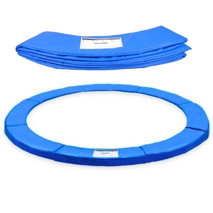ULTRAPOWER SPORTS Federabdeckung Randschutz Randabdeckung für Trampolin 305cm mit 6 Stangen blau PVC - UV beständig,passend für 300cm - 305cm …