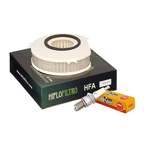 Filtro aria HifloFiltro HFA4913 candele NGK BPR7ES Yamaha XVS 1100/A Drag St