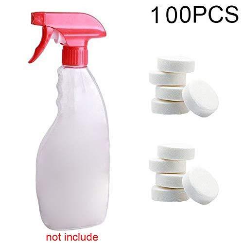 lzndeal 100pcs Outil de Nettoyage sans Bouteille Spray nettoyant Multifonctionnel effervescente pour la Maison Voiture