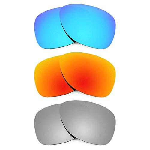 Revant Ersatzlinsen für Oakley Dispatch 2 Polarisiert 3 Paar Kombipack K014