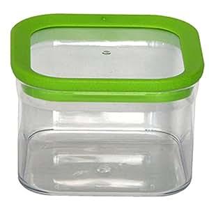 Mondex PLS2580-00 Boîte de Rangement alimentaire hermétique Plastique Transparent 10,5 x 10,5 x 7,5 cm 0,5 L