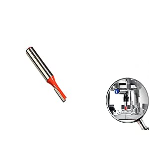 Nutfräser Hartmetall mit 8 mm Schaft 5 x 12 mm Schneide