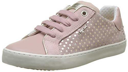 Geox Mädchen J Kilwi J Low-Top Sneaker, Pink (Rose), 32 EU