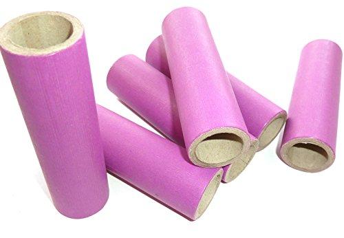 22x30x100mm Papphülse, Lila, parallel gewickelt, extrem fest, pyro paper tubes, Papierhülsen, cardboard tubes, verschiedene Stückzahlen verfügbar (10)