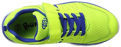 Bruetting Crater Vs, Baskets Basses Sport Unisexes - Jaune (citron / Bleu)