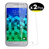 NEW'C Verre Trempé pour Samsung Galaxy Core Prime (G360),[Pack de 2] Film Protection écran - Anti Rayures - sans Bulles d'air -Ultra Résistant (0,33mm HD Ultra Transparent) Dureté 9H Glass