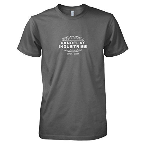 TEXLAB - Vandelay Industries - Herren T-Shirt, Größe XXL, grau