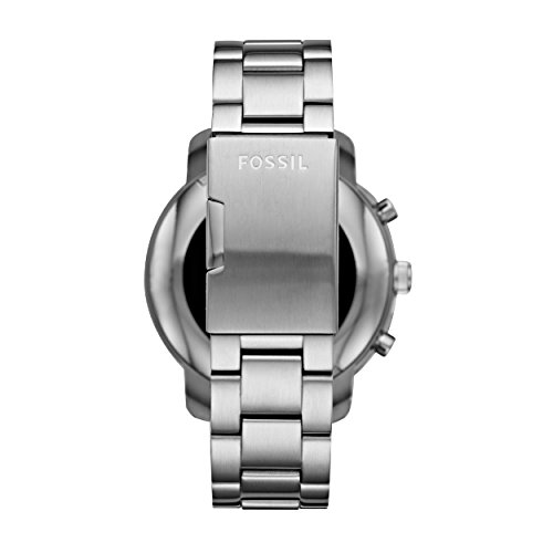 FOSSIL Gen 3 Smartwatch Q Explorist Stainless SteelMens Smartwatch Compatible With Android And IOS Activity Tracker Smartphone Notifications Water Resistant