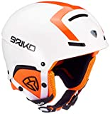 Briko Faito-Fluid Inside, Casco Unisex - Adulto, A88White Orange Fluo, M/L