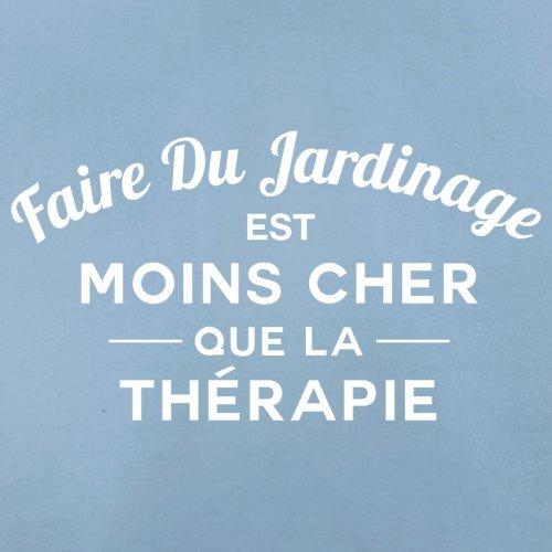 Faire du jardinage est moins cher que la thérapie - Femme T-Shirt - 14 couleur Bleu Ciel