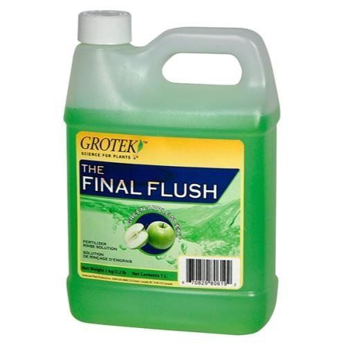 grotek Final Flush grün Apple, 1Liter von grotek - 1l Flush