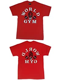 fd4c124f43c00b W100 World Gym Shirt Retro Gorilla logo