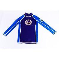 Surfit Boy's Plain - Camiseta para niño, tamaño 2-3, color azul