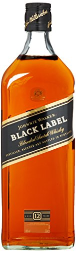 Johnnie Walker Black Label Scotch 12 Years Old  Whisky  (1 x 3 l)