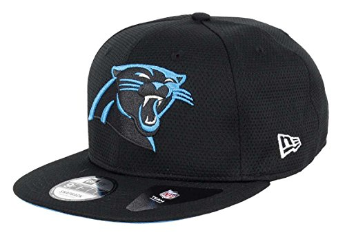 New Era - Carolina Panthers - 9fifty Snapback - Training Mesh - Black, Black, S-M (6 3/8 - 7 1/4)