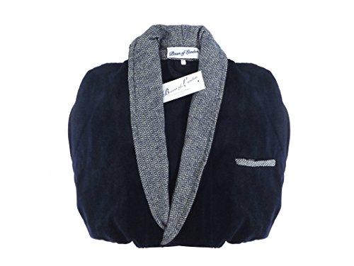 Lussuosa vestaglia in fibra di Bambù - Alp - il nostro cashmere eccezionalmente morbido ed ecologico - NUOVO - Ideale per Pelli Sensibili (XL)