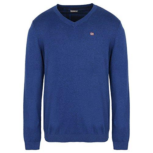 Napapijri Herren Pullover Dendre Blau