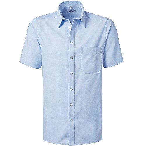 """Preisvergleich Produktbild Pionier 8178-46 Oxford Hemd""""Business Fashion"""" 1 / 2 Arm Größe 46 in hellblau Size"""