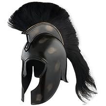 Trojan Achilles Steel Helmet with Crest