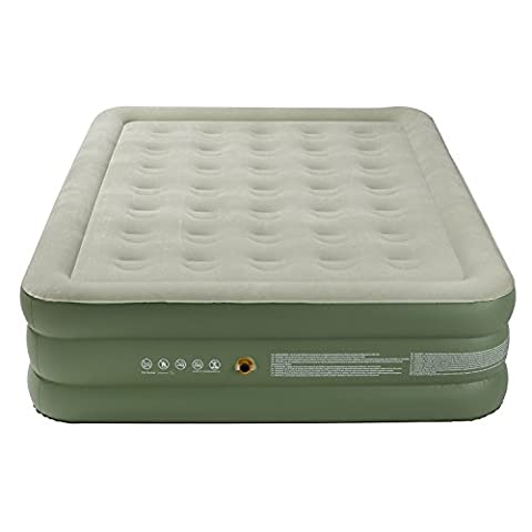 Coleman Airbed Maxi Comfort Bed, Green, King