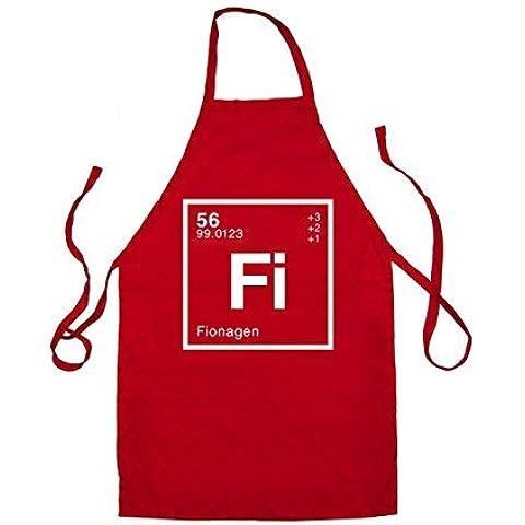 FIONA - Periodici Elemento - Unisex Grembiule - 2 (Fiona Air)