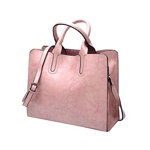 Borse A Tracolla In Borsa In Pelle Vintage Pu. Borsa A Maniche In Multicolore Pink