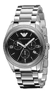 Emporio Armani Herren-Armbanduhr XL Chronograph Quarz Edelstahl beschichtet AR5897